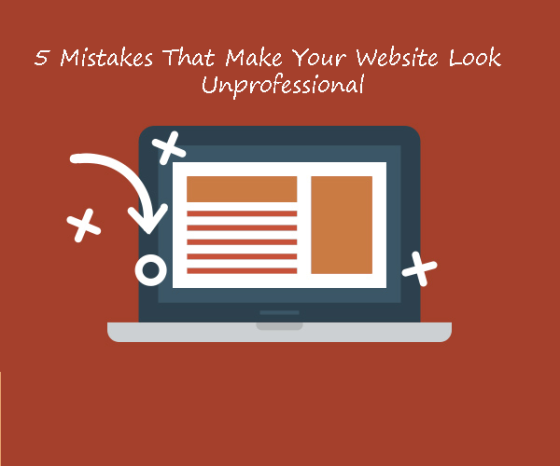 5 Website Mistakes Costing You Conversions